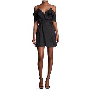 6 Shore Road Sunday's Linen Dress in Black